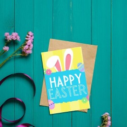 Happy Easter - Easter Themed Greetings Card